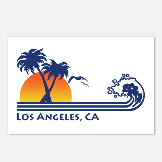 Los Angeles, CA Postcards (Package of 8)