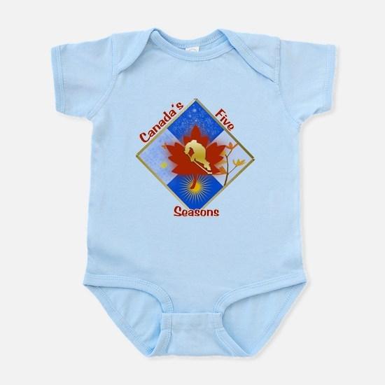Canada's 5 Seasons Infant Bodysuit