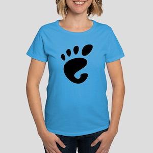 GNOME linux Women's Dark T-Shirt