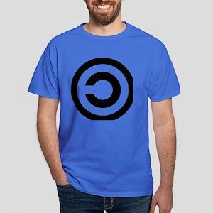 copyleft symbol Dark T-Shirt