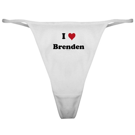I love Brenden Classic Thong