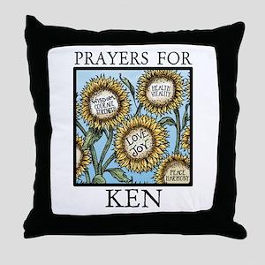 KEN Throw Pillow