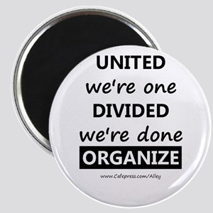 United We're One (union) Magnet