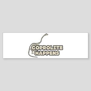 COPROLITE HAPPENS Bumper Sticker