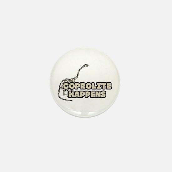 COPROLITE HAPPENS Mini Button
