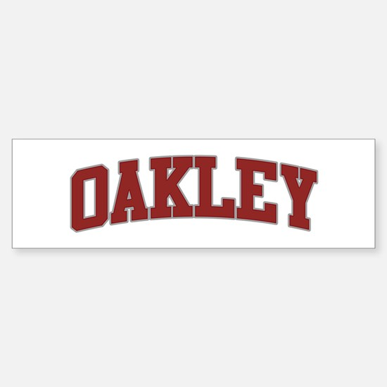 OAKLEY Design Bumper Stickers