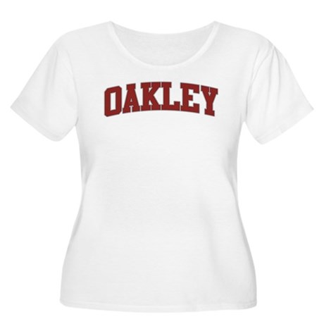 OAKLEY Design Women's Plus Size Scoop Neck T-Shirt