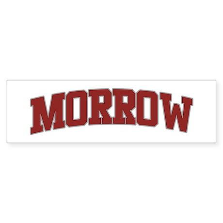 MORROW Design Bumper Sticker