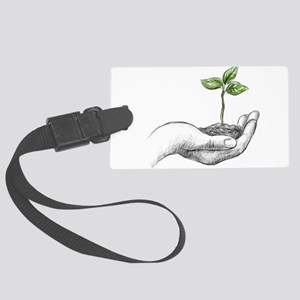 environment Large Luggage Tag