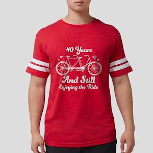 40th anniversary couples Women's Dark T-Shirt