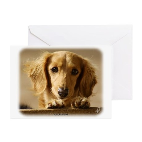 Dachshund 9L007D-15 Greeting Cards (Pk of 20)