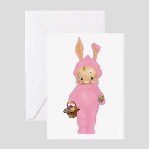 KEWPIE - BABY'S FIRST EASTER Greeting Card