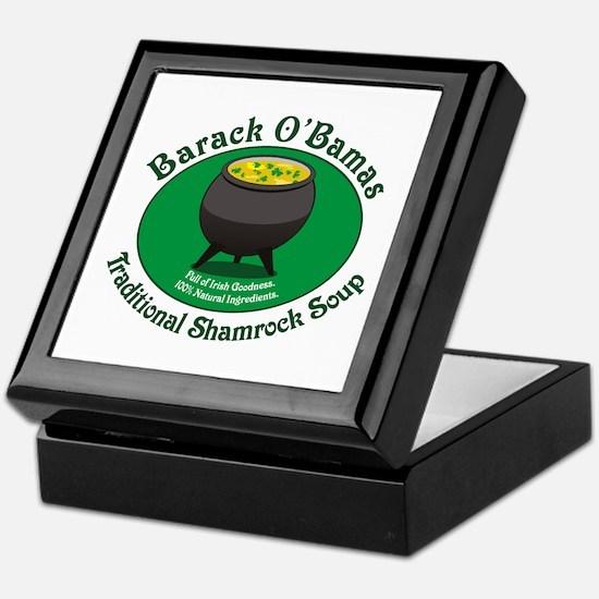 O'Bamas Soup Keepsake Box