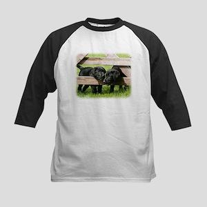 Labrador Pups 9Y415D-168 Kids Baseball Jersey
