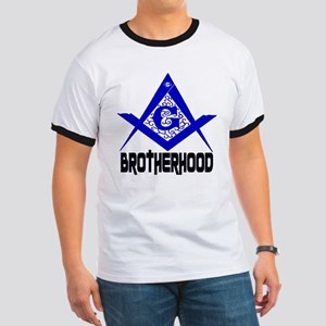 Freemason BROTHERHOOD Ringer T