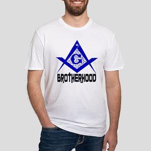 Freemason BROTHERHOOD Fitted T-Shirt