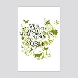 Buddha Noble - Animals and Floral Mini Poster Prin