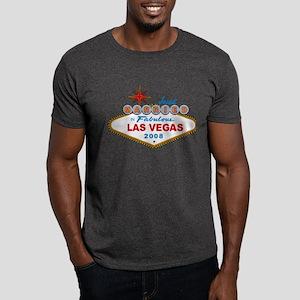 Just Married In Fabulous Las Vegas 2008 Sign Dark