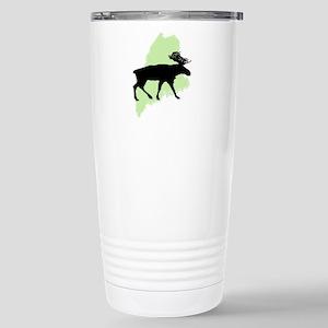 Go Green Maine Moose Stainless Steel Travel Mug