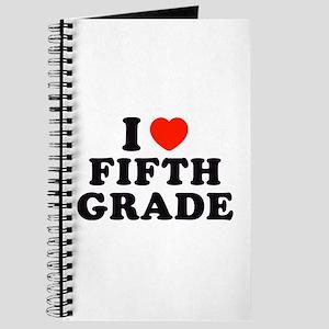 I Heart/Love Fifth Grade Journal