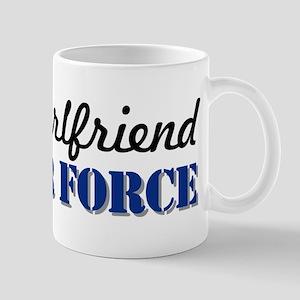 Proud Girlfriend USAF Mug