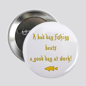 "I Love Fishing 2.25"" Button"