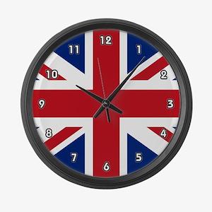 United Kingdom Large Wall Clock
