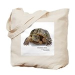 Ornate Box Turtle Tote Bag
