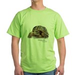 Ornate Box Turtle Green T-Shirt