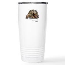 Ornate Box Turtle Stainless Steel Travel Mug