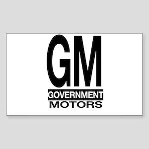 GM Rectangle Sticker