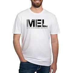 Melbourne AirportCode Australia MEL Shirt