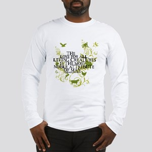 Darwin Noble - Animals and Floral Long Sleeve T-Sh