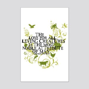 Darwin Noble - Animals and Floral Mini Poster Prin