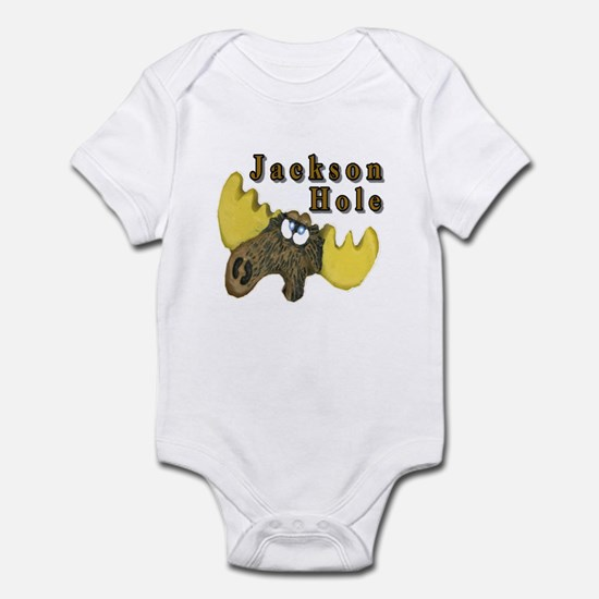 Jackson Hole moose Infant Bodysuit