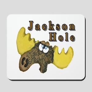 Jackson Hole moose Mousepad
