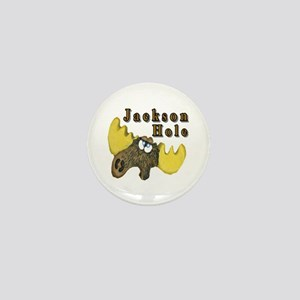 Jackson Hole moose Mini Button