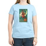 Witch and Owl Women's Light T-Shirt
