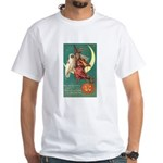Witch and Owl White T-Shirt