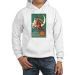 Witch and Owl Hooded Sweatshirt