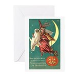 Witch and Owl Greeting Cards (Pk of 10)