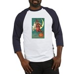 Witch and Owl Baseball Jersey