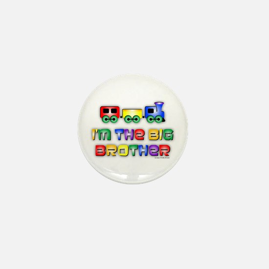 Baby Bro Choo Choo Train Mini Button