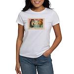 Girl Owl & Pumpkin Women's T-Shirt