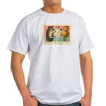Girl Owl & Pumpkin Light T-Shirt