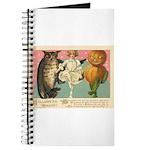 Girl Owl & Pumpkin Journal