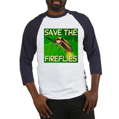 Save The Fireflies Baseball Jersey