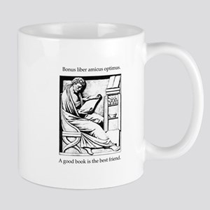 A good book is the best friend Mug