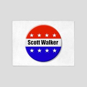 Scott Walker 5'x7'Area Rug
