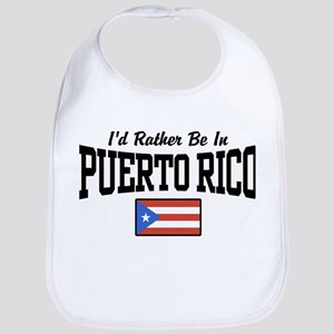 I'd Rather Be In Puerto Rico Bib